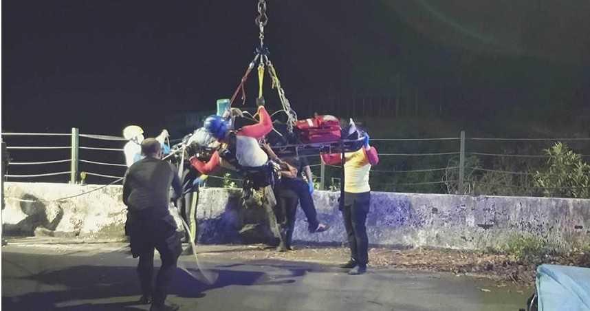 桃園7人夜衝猴硐 39歲男抓蝦溺斃基隆河