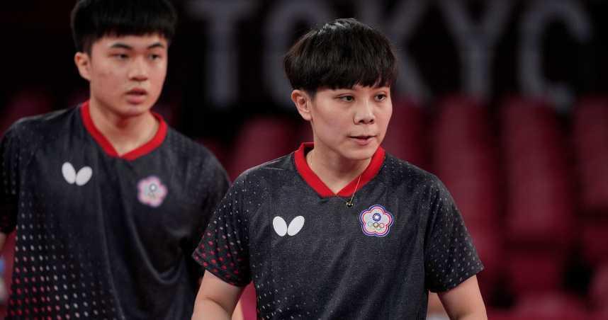 桌球黃金混雙奪銅 桌協理事長感動:真正台灣選手拿到獎牌