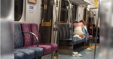 台鐵車廂男女忘情纏綿 乘客看傻:「性愛列車開駛了」
