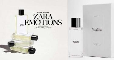 ZARA新香水系列很厲害!原來找來Jo Malone創始人合作最新Emotions香水系列!讓你用半價就買到一樣的香氣!