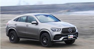 飆上路/Mercedes-AMG GLE 53 4MATIC+ Coupé 集性能美感於一身