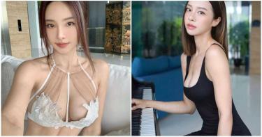 美女進化史!火辣鋼琴家「舊照出爐」 清純鄰家妹→真人版娜美
