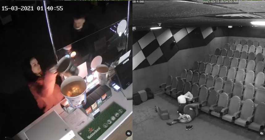 情侶夜闖電影院「啪啪」 業者公布監視器畫面「期望答謝」