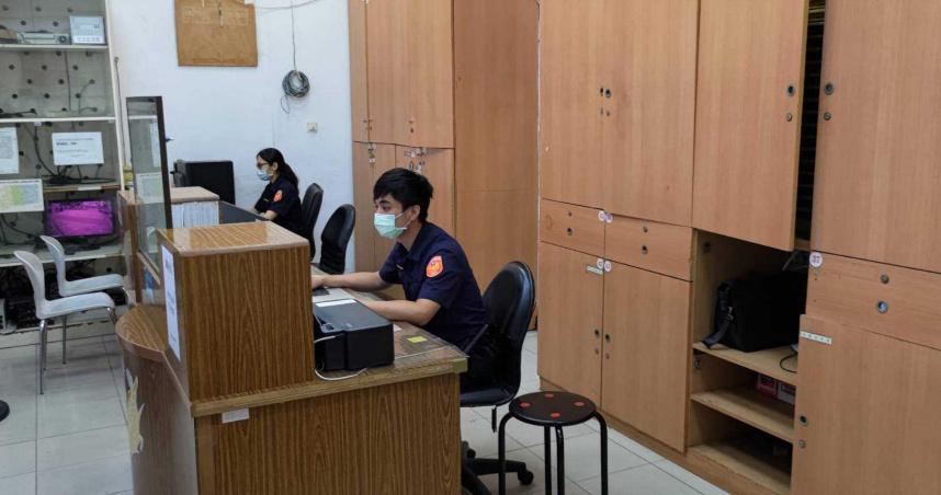 萬華分局實施「異地辦公」 一半警力派駐他處分散風險