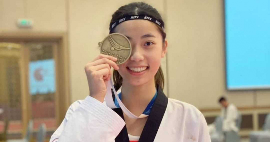 跆拳道女將羅嘉翎半決賽不敵美國 仍有望爭奪銅牌
