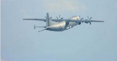 26日下午運8偵查機、運8反潛機進入我西南空域 空軍廣播驅離、防空飛彈追監