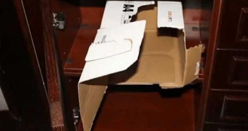1555萬現金藏家中 大連小偷獨自搬運4箱40多公斤鈔票
