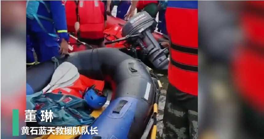 浪費救人時間!陸網紅偷救難隊橡皮艇 竟只為作秀自拍「救難影片」