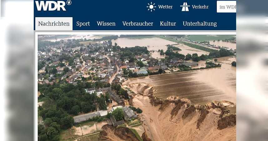 西歐「死亡洪水」造成至少126人喪命 豪雨下不停「水位再升高」