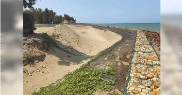 掃除「最毒海岸線」  竹縣砸億元養灘設海堤