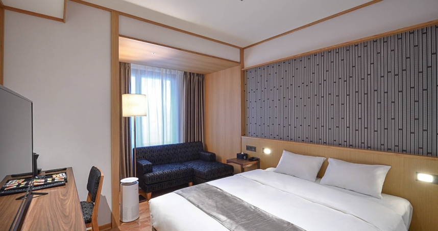 又有日系飯店進駐台灣! 「格拉斯麗台北飯店」9/14開幕 房型設計超和風
