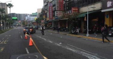 婦清晨過馬路遭賓士車撞飛 駕駛:她突然出現馬路上