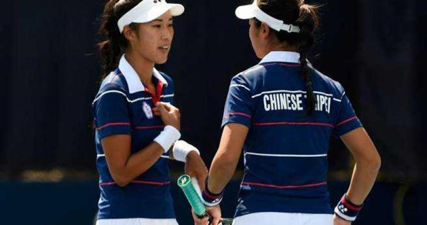 台灣網球女雙組合謝語倢、許絜瑜首登奧運 對決捷克頭號種子戰敗