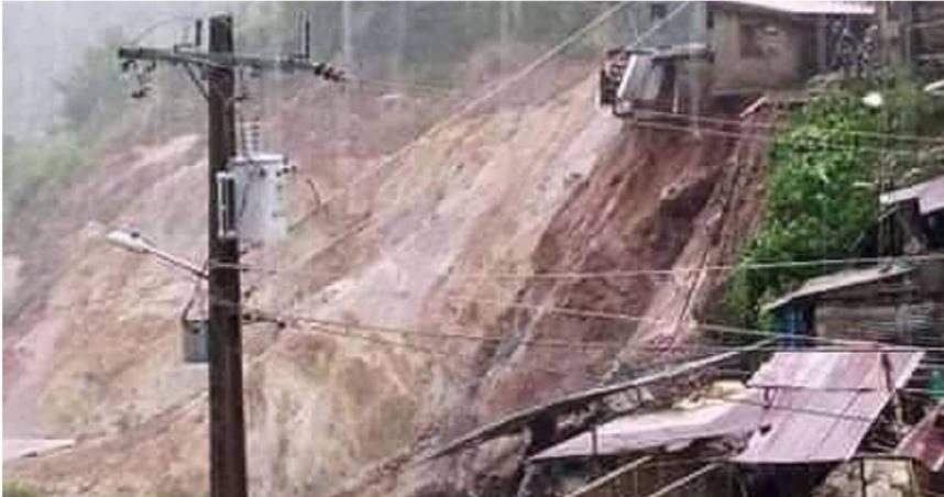「圓規」狂襲菲律賓釀山崩、土石滑落 至少11死、22人失蹤