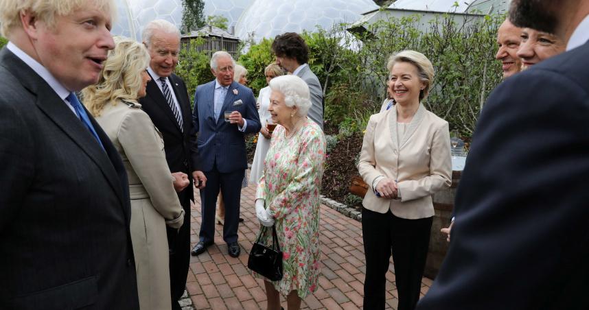 英國女王迎接G7各國領袖 在位69年曾接見13任美國總統