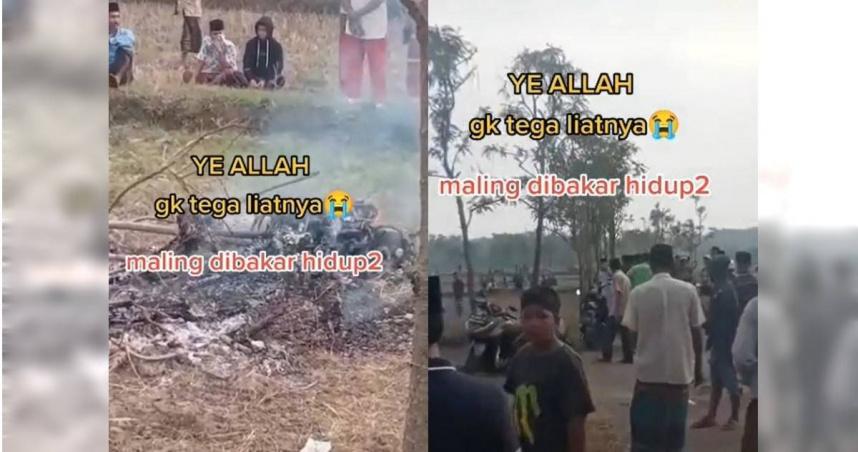 偷機車遭私刑放火燒 憤怒村民圍觀看他成焦屍