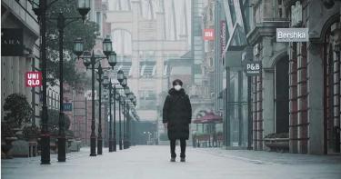 武漢肺炎/網拍「封城市景」鬧區變空城:這不是電影!