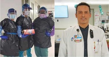 紐約醫療大崩盤!慘把「垃圾袋」當防護衣穿 男護理師確診亡
