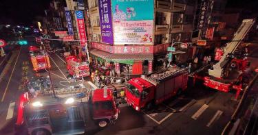 員林知名豆漿店凌晨大火「1死2傷」 疑員工換裝瓦斯通不慎