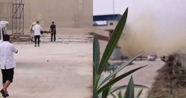 湖北化工廠爆炸疑「硝酸洩漏」 黃煙瀰漫致5死1傷