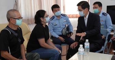 動員所有力量 國防部長:一定要把蔣上校找回來