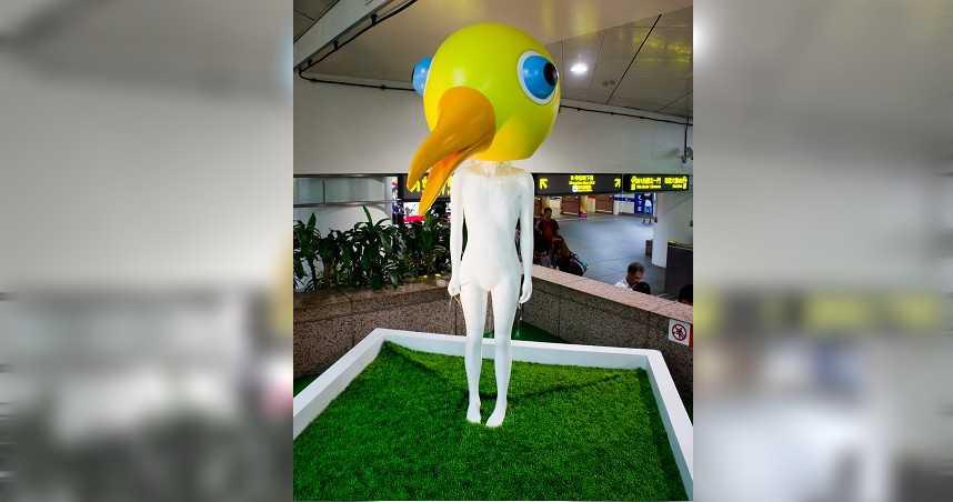 11年重要地標消失!台北車站「鳥人」突被撤 民眾哀號:要迷路了