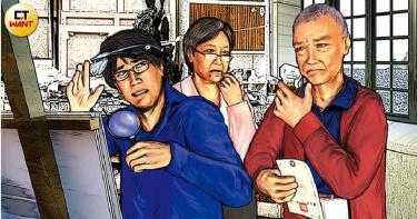 假畫風雲3/富豪帶畫作親赴法國請朱德群遺孀鑑定 千萬名畫遭判是「假的」
