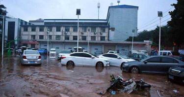 鄭州千年一遇暴雨致災 多家陸企開倉、捐款馳援