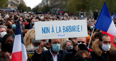 歷史老師遭斬首!法國稱「伊斯蘭恐怖攻擊」:驅逐231名外國人