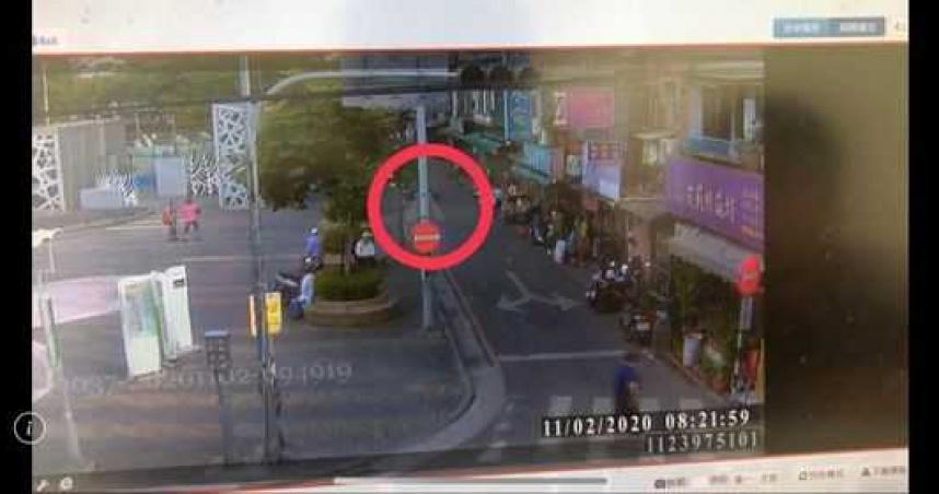 28歲男從5樓墜地 遭砸中女騎士輕傷男子命危急救中