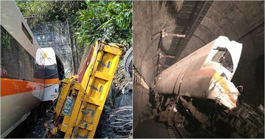 太魯閣號出軌卡死隧道! 36人無生命跡象、72人受困 「第8節最慘」