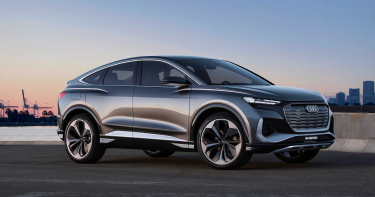 Audi新純電休旅Q4 Sportback e-tron 續航可達500公里