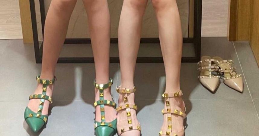 這腿模太美!試穿高跟鞋「白嫩又筆直」 身分曝光…全網驚呆