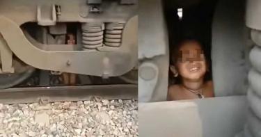 2歲弟軌道上玩耍!下秒「火車狠輾過」…司機驚慌下車傻眼了