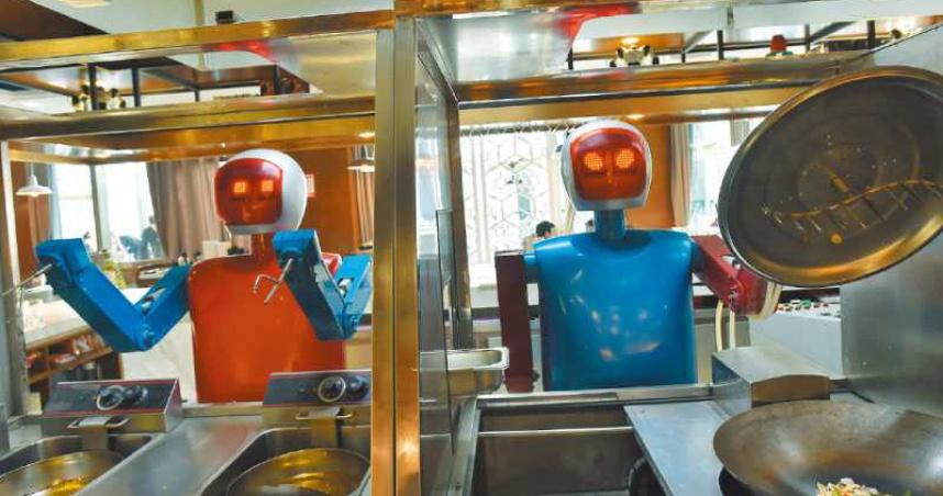 人口紅利沒了?陸服務業缺工請嘸人 企業搶進餐飲機器人市場