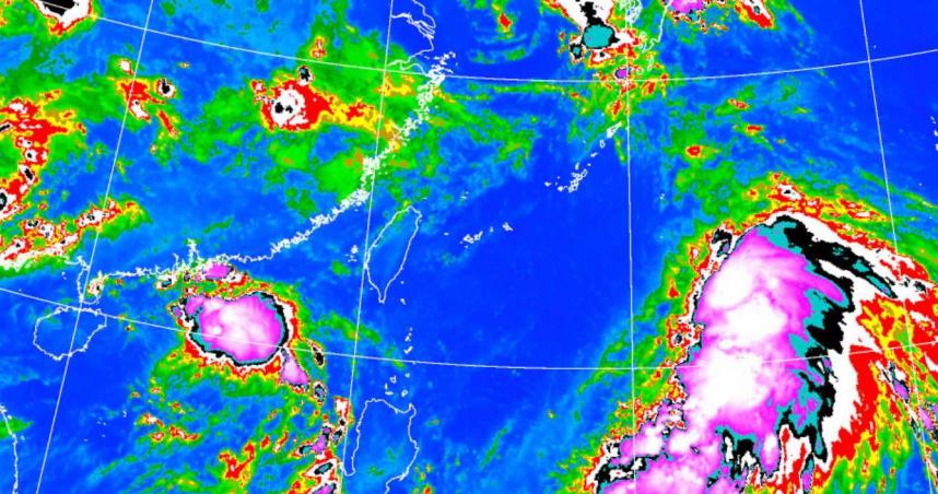 「烟花」颱風今凌晨生成!有增強趨勢 吳德榮:不能排除直接侵台機率
