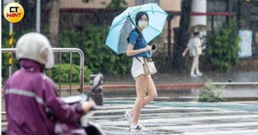 8縣市午後雷雨來襲 「大雨特報」防雷擊強陣風