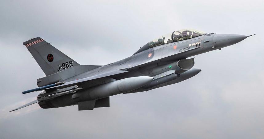美國防部公佈軍售合約!傳向台灣出售「66架F-16戰機」 總價620億美元