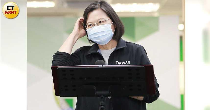 新冠疫情警戒升級 蔡英文:防1年多更不能失守