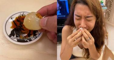 納豆實測「荔枝+醬油=鮭魚味」 女友吃完皺眉哭了