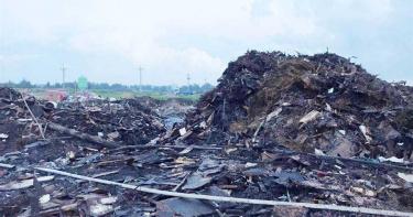狂燒3天2夜!彰化農地堆積垃圾山 淪為「現代煉獄」