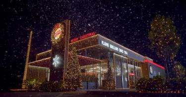 影/太想告別2020 漢堡王「跳過5個月」直接慶祝聖誕節