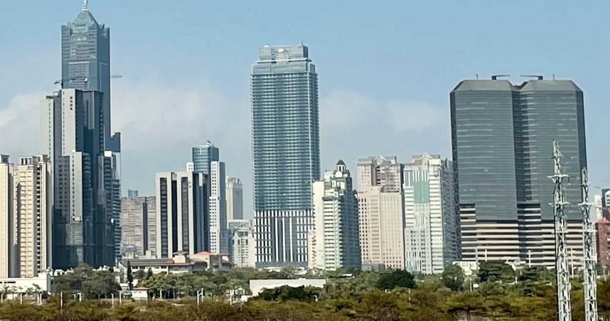 高雄摩天大樓3年增3倍 天際線與房價一起改寫