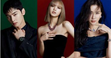 紅藍綠珠寶三重奏!LISA、高素榮、車銀優合體大膽玩色,為首爾《BVLGARI COLORS寶格麗色彩》期間限定特展霸氣站台