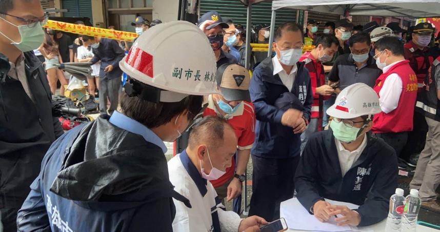 城中城惡火 陳其邁:26人送醫、其中1人加護病房觀察中