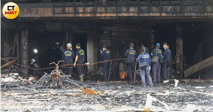 高雄城中城人為縱火可能性升高 目擊者指證一樓沙發起火
