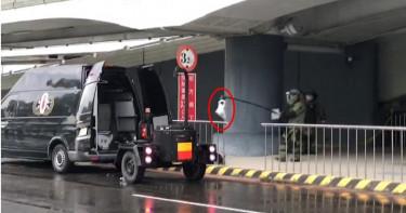 小港機場遭放置爆裂物?可疑包裹竟然是電風扇