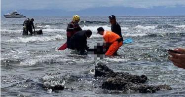 女遊客綠島潛水失蹤 找到時已成冰冷屍體