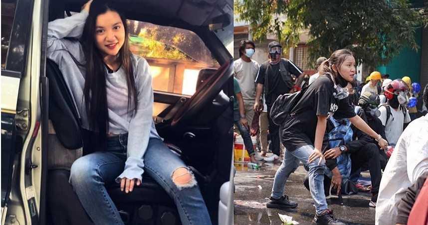 緬甸軍血腥鎮壓!19歲華裔正妹衝前線「爆頭身亡」留遺言:器捐救更多人