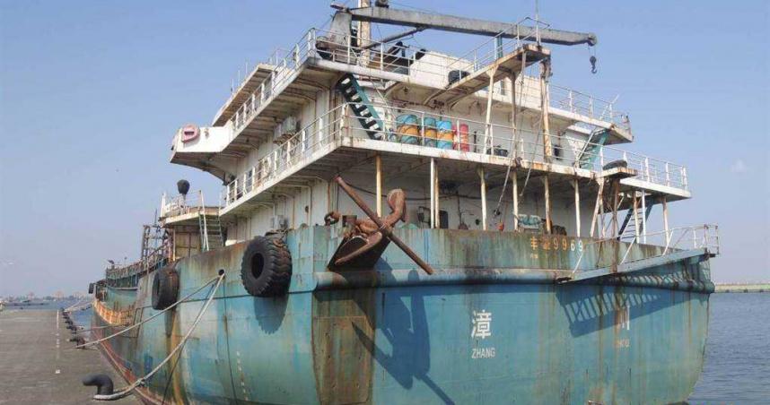 我扣押大陸抽砂船收繳罰款慢 法務部建議政府直購變飛彈練習靶